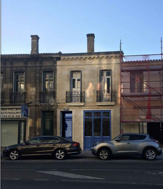 façade projetee